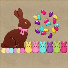 Scrapbooking TammyTags -- TT - Designer - Harper Finch, TT - Item - Element, TT - Theme - Spring or Easter
