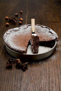 Torta Gianduia con Nocciole e Cioccolato
