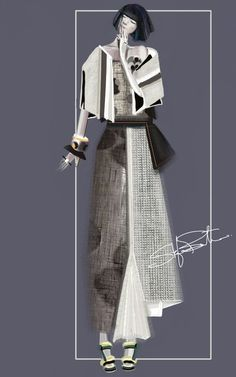 """Yuki"" Sketch 
