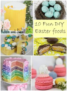 Bubble and Sweet: 10 fun DIY homemade Easter treats