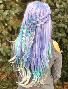 braided hairstyle design for blonde hair, purple Unique hair color ideas , blonde braided hair with heart, Unique wavy hairstyle with layers for long hair, Short Punk Hair, Haircuts For Long Hair, Braids For Short Hair, Short Haircut, Loose Braid Hairstyles, Unique Hairstyles, Short Hairstyles, Amazing Hairstyles, Blonde Braids