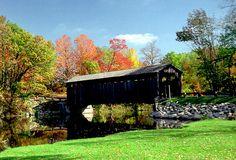 Fallasburg Park Covered Bridge