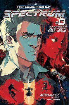 ALAN TUDYK & NATHAN FILLION Go Back Into Sci-Fi With Comic Book Series SPECTRUM | Newsarama.com