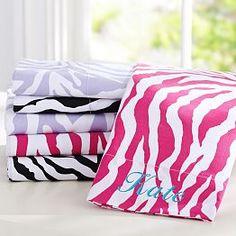Coraline Zebra Bedroom | PBteen