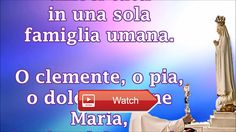 Preghiera di Papa Francesco alla Madonna di Fatima  Preghiera di Papa Francesco alla Madonna di Fatima
