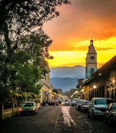 Coatepec, Veracruz. This!  This is the exact place I want to spend the rest of my days. Gazing at the mountains from a cobblestone street with a steaming mug of cafe de olla in front of me.