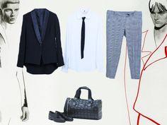 fashion week inspiration  men style boy friends luan fashion store outfit look