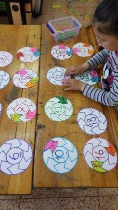 Lock & Key Addition Puzzles for Kids - fun hands-on STEM math idea! Math Classroom, Kindergarten Math, Teaching Math, Math For Kids, Puzzles For Kids, Kids Fun, Math Addition, Repeated Addition, Math Work