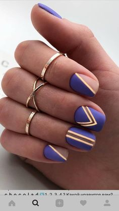Matte nails are just like a breath of fresh air in a world in which almost every manicure is vibrant and glossy. Fabulous Nails, Perfect Nails, Gorgeous Nails, Pretty Nails, Short Nail Designs, Nail Art Designs, Nails Design, Hot Nails, Hair And Nails