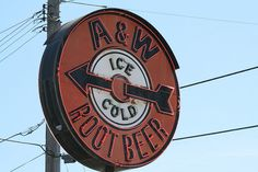 A Ice Cold Root Beer vintage neon sign by anglerove, via Flickr