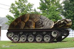 Turtle tank will, as the war begins, roll across the border, go through the forests right to the capital, and bite the president on the nose. They aren't very well known for offensive capabilities. They are excellent for defence though.