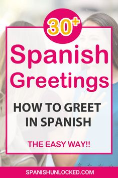 learning spanish The Easy way to greet in Spanish! Let's learn how to say hello how are you in Spanish. Also, good morning, good afternoon, good evening, etc! In Spanish these are tra How Are You Spanish, Good In Spanish, Simple Spanish Words, Hello In Spanish, Good Morning In Spanish, Learn Spanish Free, Learn To Speak Spanish, Learn Spanish Online, Study Spanish