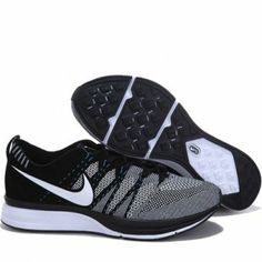 sale retailer 3ab7e 695d6 Nike Flyknit Trainer Suede Leather Black Grey Mens Sport Shoes Cosas Para  Comprar, Compras,