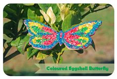{Triple T Mum} Eggshell Mosaic Butterfly