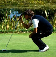 Daniel Berna, finalist in the #CopaRey 2014. The Spanish golfer has beaten other two Spanish players, Víctor Pastor and Iván Cantero, in the quarter and semi finals. Berna will match up against Austrian Robin Goger. Thrilling Sunday at La Reserva Golf Club! #golf https://www.facebook.com/joinsotoluxury