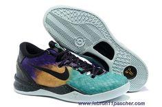 size 40 e1779 e06da 555286-302 Nike Kobe 8 System GC Easter FBRGLSS CRT PRPL-BLCK-