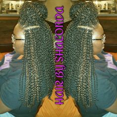 Crochet Braids Xpression Multi : Small box braids, Small boxes and Box braids on Pinterest