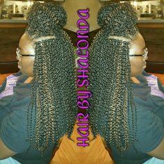 Crochet Braids Xpression Multi : Small box braids, Small boxes and Box braids on Pinterest