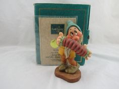 "WDCC ""Aw Shucks"" Bashful from Disney's Snow White and the Seven Dwarfs Box COA by LovelyTeaCupsandMore on Etsy"
