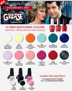 OPI Summer 2018 Grease Collection
