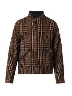 Prince of Wales kimono-sleeve coat | Cerruti 1881 Paris | MATCHESFASHION.COM