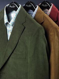 Narrow Wale Cotton Corduroy Jackets