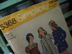 Simplicity pattern 5368 maternity pattern  free by susiestratford