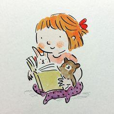 Doodleyboo People Illustration, Children's Book Illustration, Character Illustration, Cute Dog Drawing, Drawing For Kids, Doodle Cartoon, Cartoon Drawings, Amazing Drawings, Cute Drawings