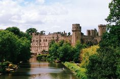 "Warwick Castle in Warwick, Warwickshire  ""England's Finest Medieval Castle"" [1000 Places To See Before You Die]"