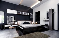 Bedroom Decorating Ideas With Black Furniture