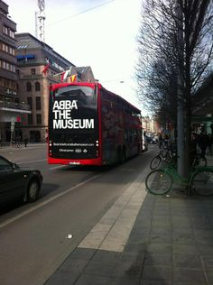 Buses in Stockholm will make regular runs to the opening of the ABBA Museum on Tuesday, 05/07/13.