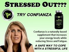 Stress, ADHD help, adrenal gland support, ask me about Confianza!  trinaconner.myitworks.com