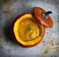 Au bon pain pumpkin soup