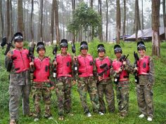 #Rafting #Paintball #Outbound #Games #Bandung