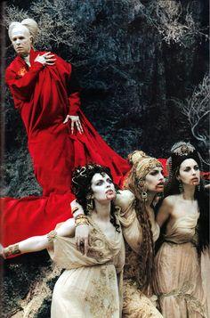 """lottereinigerforever: """" Gary Oldman as Bram Stoker's Dracula by Helmut Newton """""""