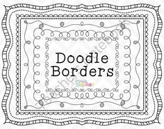 Win a set of Clip Art Doodle Borders!! Enter for your chance to win 1 of 10.  Clipart -Doodle Borders Set 1 (10 pages) from Sonya DeHart Design on TeachersNotebook.com (Ends on on 9-30-2014)  Sized for 8.5 x11 pages this set comes both transparent and with a white inner fill.