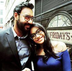 La hija y él esposo de Kajol Devgan