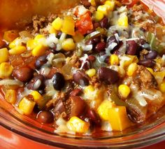 Southwestern Hamburger Soup HispanicKitchen.com
