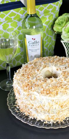 Labor Day Entertaining with Tropical Angel Food Cake #SundaySupper #GalloFamily - Recipes Food and Cooking