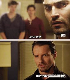 Teen Wolfnow we know where the Hale sass is passed down from.