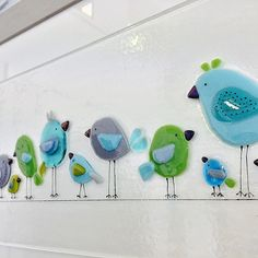 ones seem to be super popular at the moment. Everyone is living the coastal interiors! Glass Artwork, Glass Wall Art, Sea Glass Art, Stained Glass Art, Clear Glass, Wine Glass, Broken Glass Art, Shattered Glass, Glass Fusion Ideas