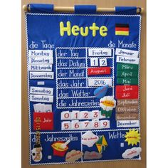 german classroom calendar - Google Search