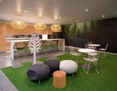 Green Grass Carpet Room Interior Design