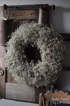 "Art de la Fleur ""Floral, Flowers, Angelique Temmink Waalboer, Wreath, Kra …- A … Floral Room, Deco Floral, Wreaths For Front Door, Door Wreaths, Christmas Wreaths, Christmas Decorations, Holiday Decor, Decoration Shabby, Wreaths And Garlands"