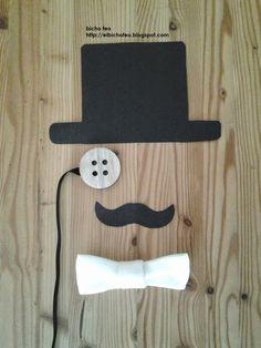 Maschera per Capodanno. Auguri! http://elbichofeo.blogspot.com