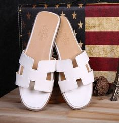 61ba80761a4 HERMES Women s flat shoes leather slippers sandals for USD Sale - - Sellao  - Buy and Sell Online for Everybody Trade