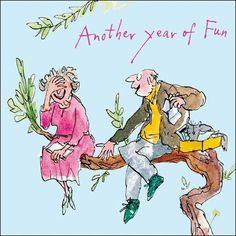 ANNIVERSARY QUENTIN BLAKE ANOTHER YEAR OF FUN BA1042 - £2.65 - A great selection…