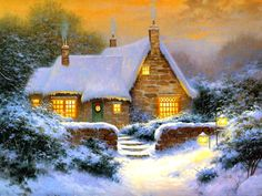 Carol's Winter Cottage by Sergon