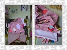 couverture pour bébé Blog de Miss SaCha : création, couture, bijoux, peintures ... Made in Grenoble