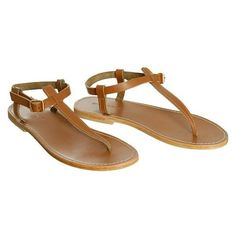 light brown leather sandals